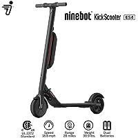 Ninebot KickScooter ES4 por Segway con Segunda batería- Patinete eléctrico Profesional para Adultos Fuera de la Calle, Plegable, con Motor Mejorado
