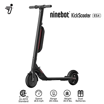 PATINETE ELÉCTRICO NINEBOT BY SEGWAY MODELO ES4 APP, 45KM ...