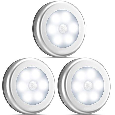 Amazon.com: Sensor de movimiento de luz de armario, funciona ...