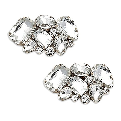 Absolutely Audrey Shoe Clips Vienna Crystal by Absolutely Audrey