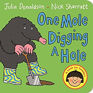 book cover of One Mole Digging a Hole