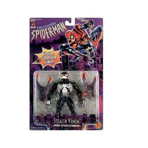 THE AMAZING SPIDER-MAN SPECIAL COLLECTORS SERIES:STEALTH VENOM (BLACK VERSION) FIGURE by TOY BIZ [並行輸入品] B00U1ZXEO8