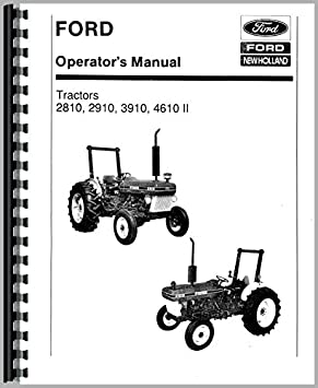 ford 4610 tractor operators manual amazon co uk garden outdoors rh amazon co uk manual ford 4610 tractor manual ford 4610 tractor