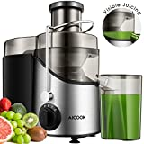 Juicer Juice Extractor, Aicook 3'' Wide Mouth Stainless Steel Centrifugal...