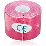 New 500cm x 5cm Kinesiology Tape Sports Muscles Elastic Therapeutic Fleshcolor Waterproof