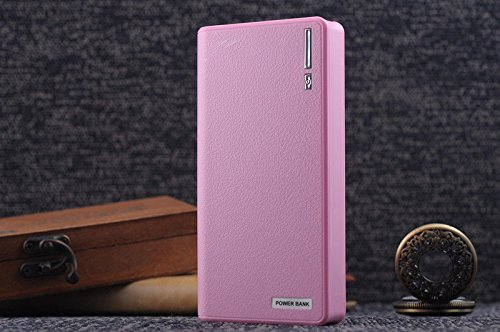 50000mAh Backup External Battery USB Power Bank Pack Charger for Cell Phone (Pink)