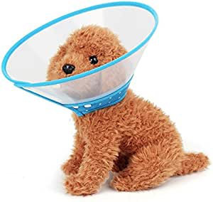 Pet-only Lovely Pretty Beautiful Fashion Comfortable Elizabeth Pet Collar Headgear Ruff Funnel Cover Anti Bite Lick Safety Practical Neck Protective, Size: S, Suitable for Neck 15-20cm Security