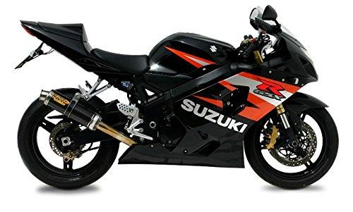 Escape Mivv GP Suzuki GSX-R 600//750 04-05 Carbono