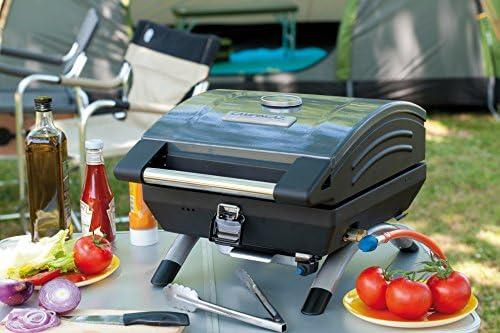Campingaz Barbecue Gaz Portable 1 Series Compact LX R, BBQ 1 Brûleur, Barbecue Portable de Camping, Mini Barbecue à Gaz, Grille d'extérieur, Egalement pour Caravane et Balcon