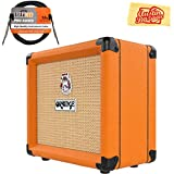 Orange Crush 12 Guitar Combo Amplifier Bundle with Instrument Cable and Austin Bazaar Polishing Cloth