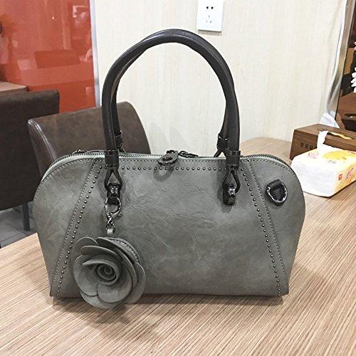 ZHANGJIA Retro - Damen - Taschen, Damen - Lange, Taschen, Blaumen, einheitlichen Schulter ranzen Mode - handtaschen B07G12LNCD Henkeltaschen Qualität