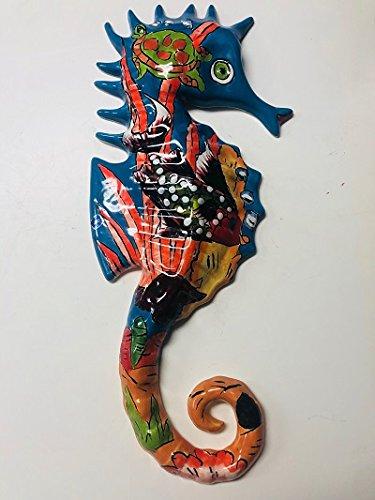 Talavera Pottery Store TALAVERA SEAHORSE LIGHT FISH