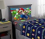 Franco Kids Bedding Super Soft Sheet Set, 3 Piece Twin Size, Mario