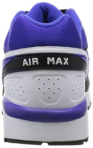 Nike Men's Air Max Bw Og Running Shoes, Black, 6.5 Black / Morado / Blanco (Black / Persian Violet-white)