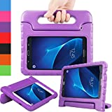 AVAWO Kids Case for Samsung Tab A 7.0 inch - Light Weight Shock Proof Convertible Handle Stand Kids Friendly for Samsung Galaxy Tab A 7.0-inch Display Tablet Only, Purple