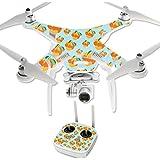 MightySkins Protective Vinyl Skin Decal for DJI Phantom 3 Professional Quadcopter Drone wrap cover sticker skins Orange You Glad