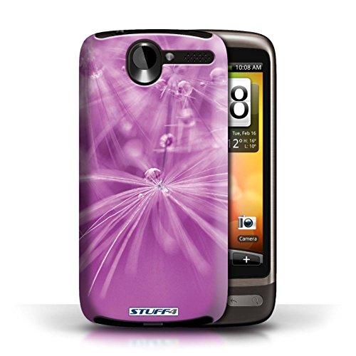 Etui / Coque pour HTC Desire G7 / Fleur Rose conception / Collection de Gouttes de Fées
