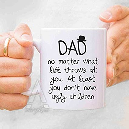 fdf02f30 Yamogg Valentines day gift, Fathers day gift from daughter, fathers day  mugs, dad mug, dad gifts from daughter, gifts for dad, new fathers MU138:  ...