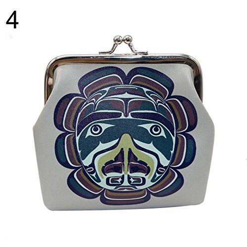 - Brave669 Women Retro Opera Facial Makeup Mini Coins Keys Holder Purse Clutch Bag Wallet
