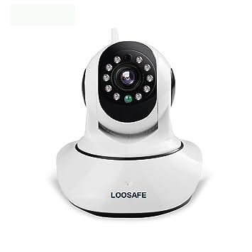 Amazon.com: loosafe ls-f2 1920 x 1080P Inalámbrico Pan ...