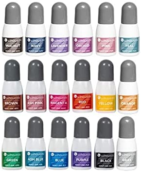 Silhouette Mint Inks – All Available Colors – 18 Pack