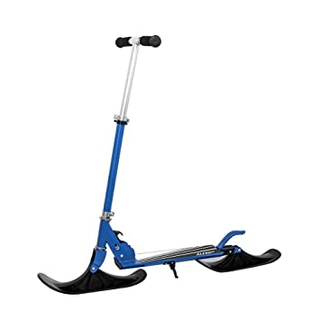 MTSBW Deluxe Street Ski 2-In-1 Youth Kick Stunt Scooter con ...