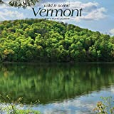 Vermont, Wild & Scenic 2019 12 x 12 Inch Monthly Square Wall Calendar, USA United States of America Northeast State Nature