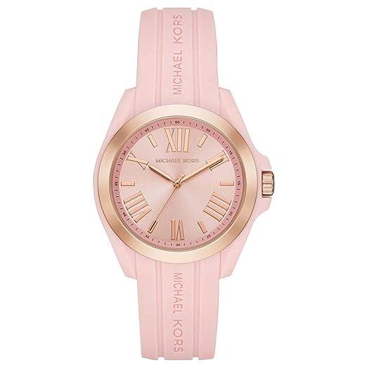 Michael Kors Reloj Digital para Mujer de Cuarzo con Correa en Silicona 4051432351051: Amazon.es: Relojes