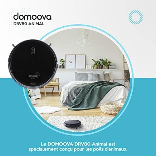DOMOOVA DRV80 Animal - Robots Aspirateurs et laveurs spécial Poils d\'animaux
