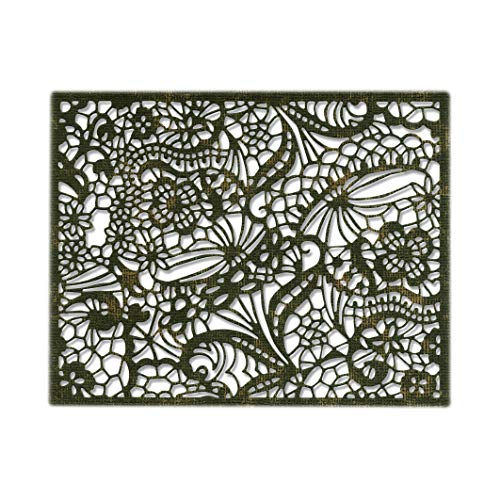 (Sizzix 664181 Intricate Lace Dies, Multicolor )