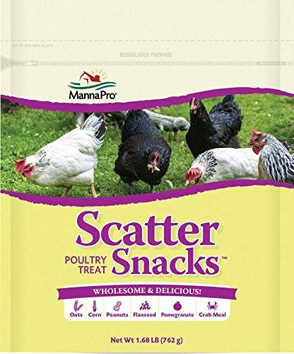 Manna Pro Scatter Snacks, 1.68 lb by Manna Pro