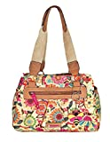 Lily Bloom Landon Triple Section Satchel, Busy Bee, Eco Friendly