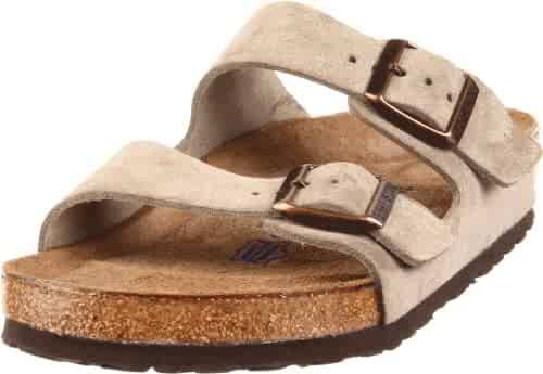 3609e27946 Birkenstock Arizona Soft Footbed Taupe Suede Regular Width - EU Size 35 Women s  US Sizes