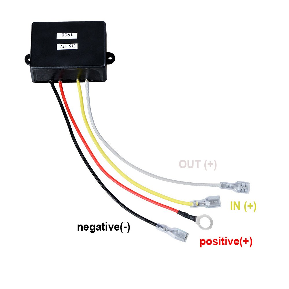 12v Winch Solenoid Relay Contactor Recovery Wireless Wiring Jeep Remote Control Twin Handset For