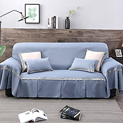 Amazon.com: MEIGUOLAO Modern Minimalist Sofa Cover Stain ...