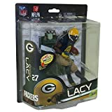 Mcfarlane NFL 6 Series 34 Figure Variant Eddie Lacy Silver Level Classic Uni... by Unknown