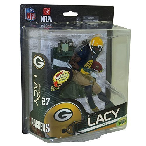 Mcfarlane NFL 6 Series 34 Figure Variant Eddie Lacy Silver Level Classic Uni... by Unknown by McFarlane Toys
