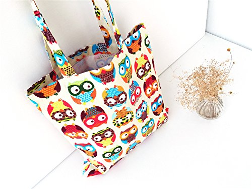 Bag 1Pcs And Handbag Tote Bag Reuseable Women's Girls Long Casual Shoulder Handles Fansi With Shopping 6EwvdE