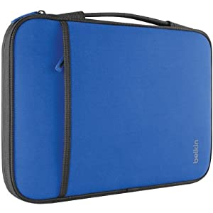 "New BELKIN B2B081-C01 11"" Netbook/Chromebook Sleeve (Blue) by BELKIN"