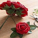 Unigds-20Pcs-Artificial-Flowers-Rose-Decor-Wedding-Bouquets-Centerpieces-Party-Home-Foam-Roses-Flowers-Decorations-Red-20-PCS