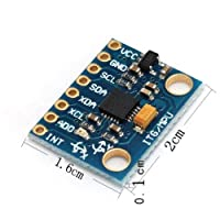 Module GY-521 MPU-6050 Module 3 Axis Gyroscope+ 3 Axis Accelerometer Module for Arduino