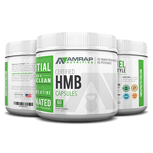 Certified HMB Capsules – Premium 1000 mg HMB Capsules Builds, Maintains Repairs Muscle. Pure HMB Supplement is more effective than Creatine Powder for increasing strength, stamina, speed recovery