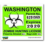 North Carolina Nc Zombie Hunting License