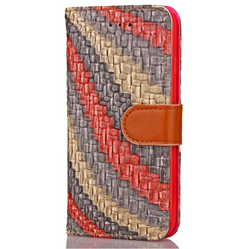 Funda Libro para iPhone 7 Plus,Manyip Suave PU Leather Cuero Con Flip Cover, Cierre Magnético, Función de Soporte,Billetera Case con Tapa para Tarjetas, Funda iPhone 7 Plus E