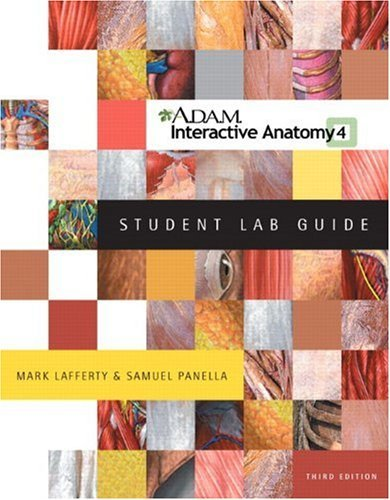 ADAM Interactive Anatomy Student Lab Guide W/Windows DVD Package by ...