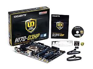 Gigabyte GAH1703HP-00-G - Placa Base (H170-D3hp, 1151, H170, 4ddr4, 64gb, Vga+Dvi+Hdmi, Gblan, 6sata3)