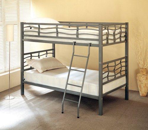 Coaster Twin Bunk Bed Metal