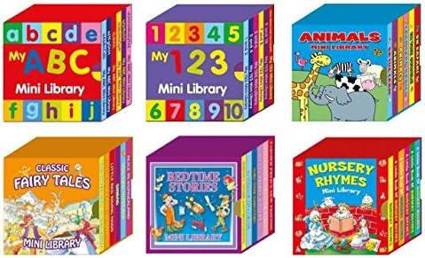 Alligator Products Mini Library Libros de cartón para niños - Caja ...