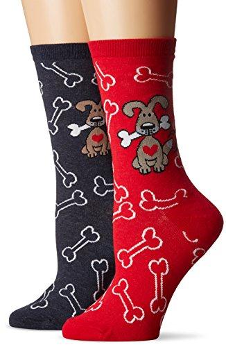 k-bell-womens-2-pack-novelty-crew-socks