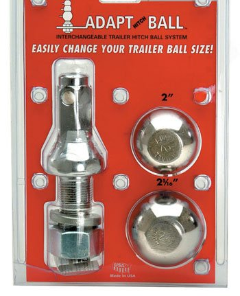Valley Adapt Hitch 2 5/16 & 2' Ball Set - Chrome